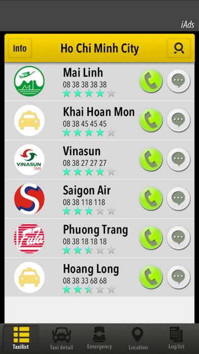 VietTaxi screenshot one