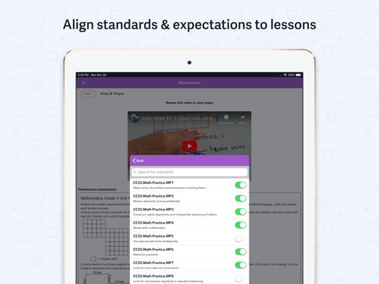 Planboard - Free Lesson Planner for Teachers screenshot