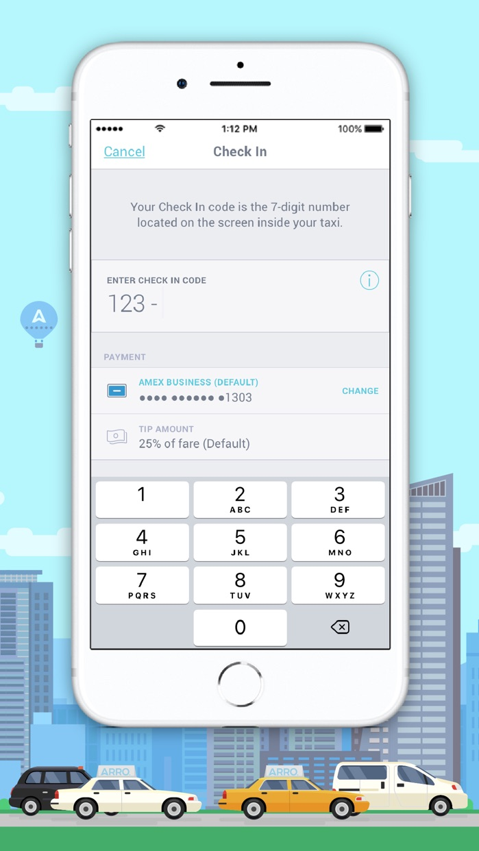Arro - Your Taxi, Your Way Screenshot