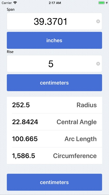 Radius Calculator screenshot-5