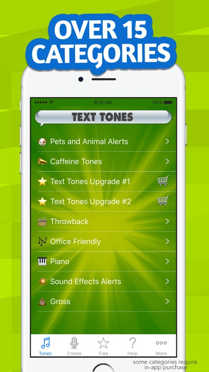 New Text Tones screenshot-2