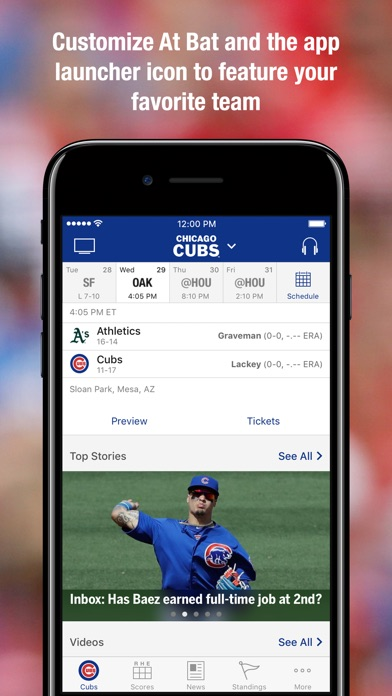 MLB.com At Bat app image