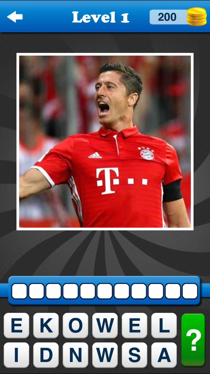 Whos the Player? Football Quiz Screenshot