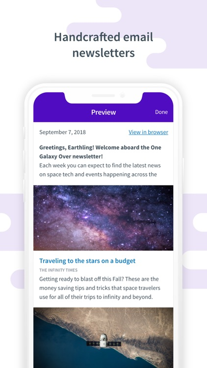 Curate: Simple Email Marketing screenshot-0