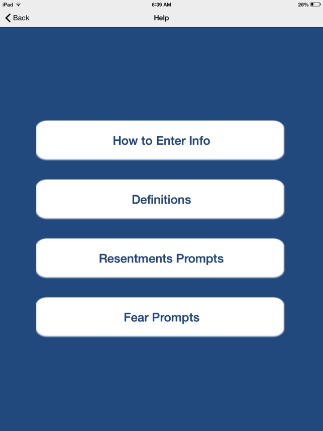 Printable Worksheets resentments worksheets : AA 4th Step on the App Store
