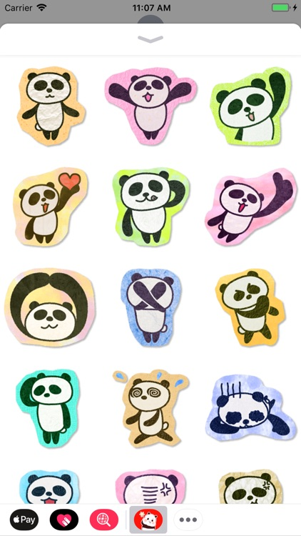 Panda Stickers Collection screenshot-9