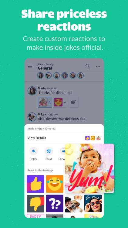 Yahoo Together - Group Chat screenshot-3