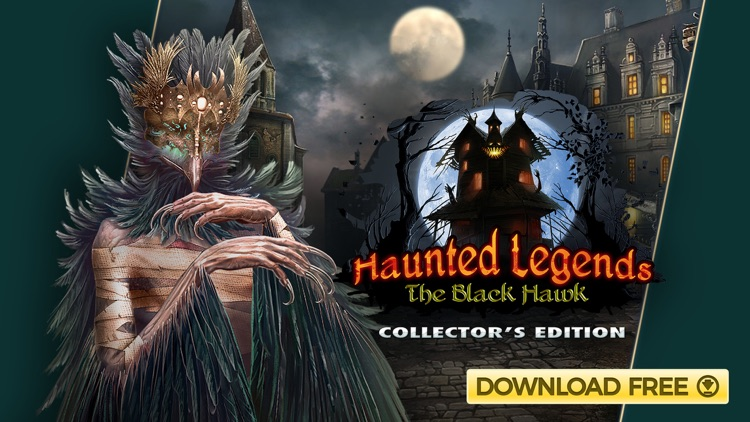 Haunted Legends: Black Hawk screenshot-4