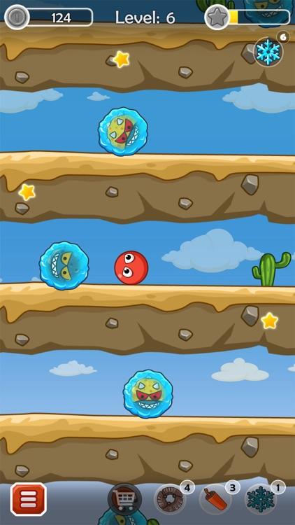 Bouncing ball adventure screenshot-3