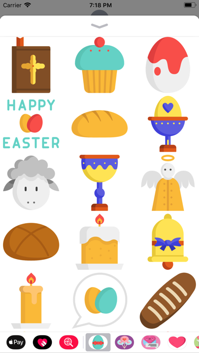 Easter Holiday Sticker Pack screenshot four