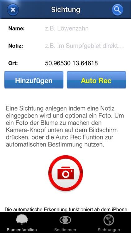Alpenblumen Id Automatik Blumen, Kräuter bestimmen screenshot-4