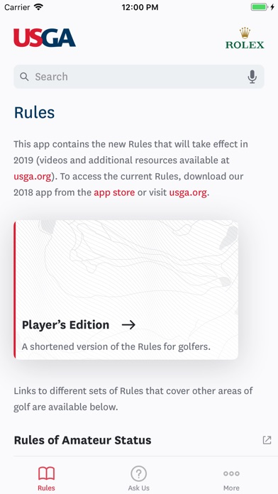 The Official Rules Of Golf review screenshots