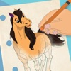 How to Draw Horses with Steps