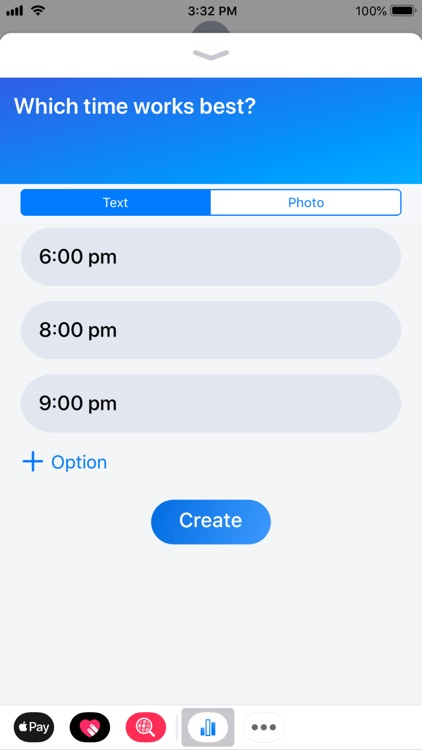 Tally - Polls for iMessage screenshot-7