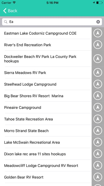 California State Campgrounds & RV's
