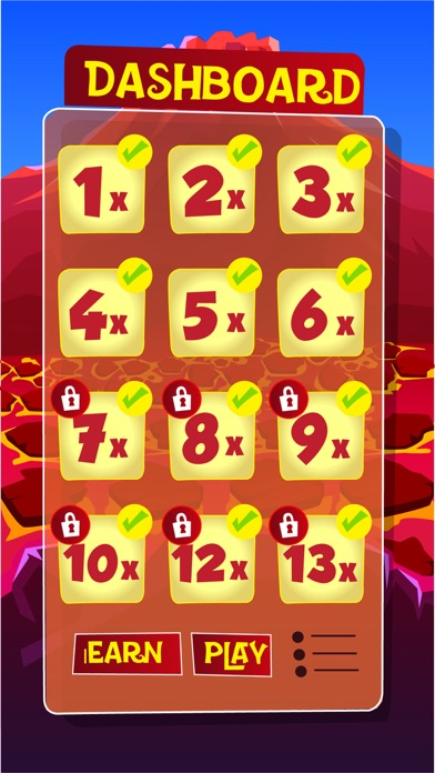 Number Monster Times Tables screenshot three