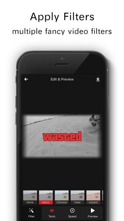 Wasted - Video Effects for GAT