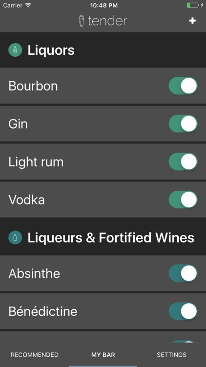 Tender Cocktails screenshot-4