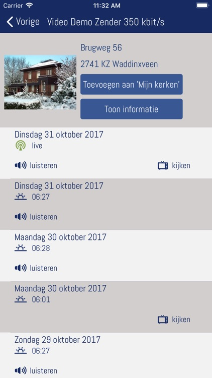 Kerkomroep screenshot-2