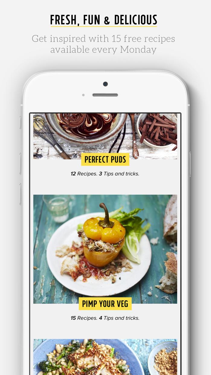 Jamie's Recipes Screenshot