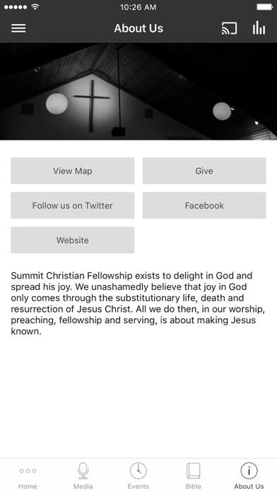 Summit Christian Fellowship screenshot 3