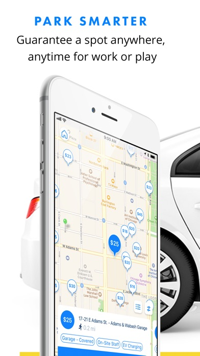 Screenshot for SpotHero - Find Parking Nearby in United States App Store