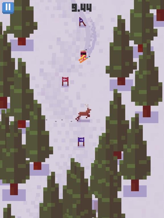 Игра Skiing Yeti Mountain