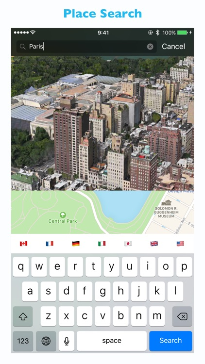 We Maps 04 - 3D Map + 2D Map