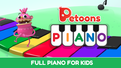 Petoons Piano music and songs for kids and family screenshot one