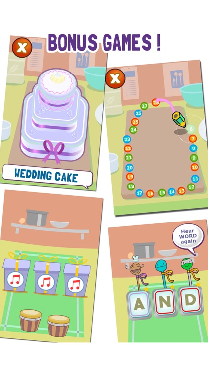 Cake Shop Letters Lite screenshot-3