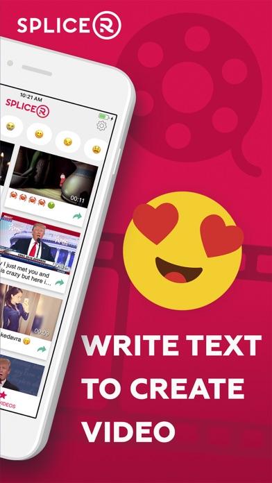 Splicer: turn text to movie Screenshot