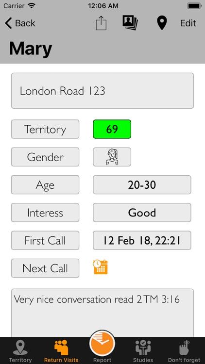JW-Service Notes screenshot-3