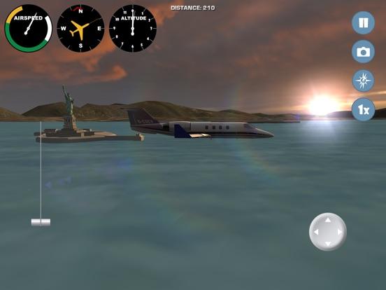 Игра Полеты на самолете по миру