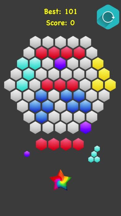 Hexagonal Merge. screenshot 1