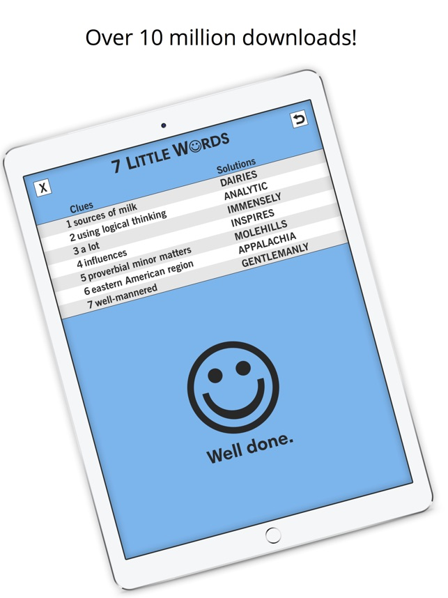 7 Little Words Word Puzzles On The App Store