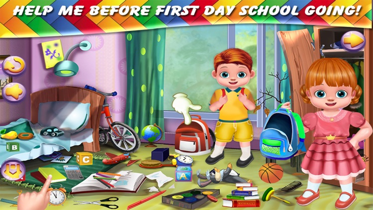 Twins Baby First Day At School screenshot-4