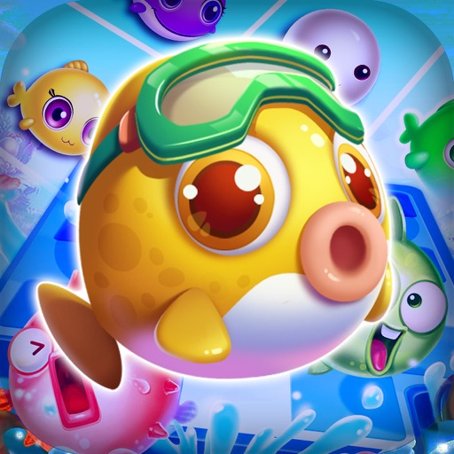 Charm Fish Mania - Match quest