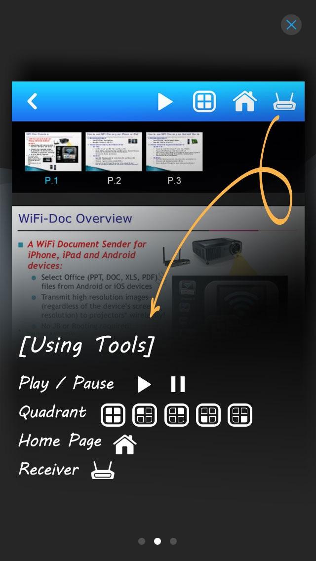 wivia Presenterのスクリーンショット2