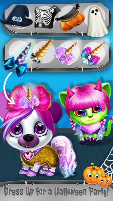 Kiki & Fifi Halloween Makeover screenshot 4