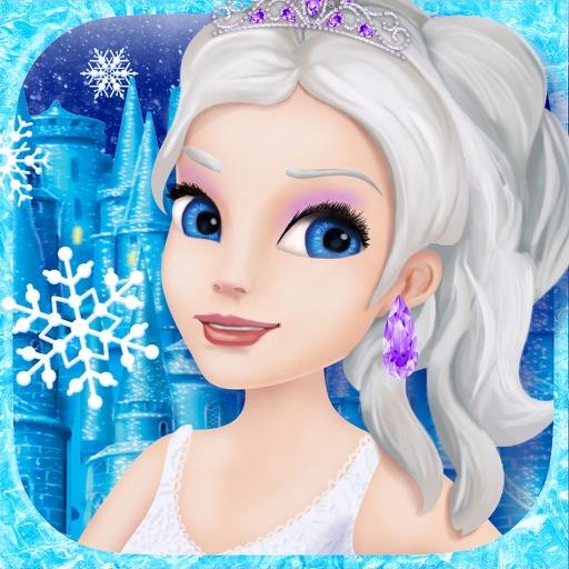 Ice Princess Salon Dress Up Fashion - Snow Queen