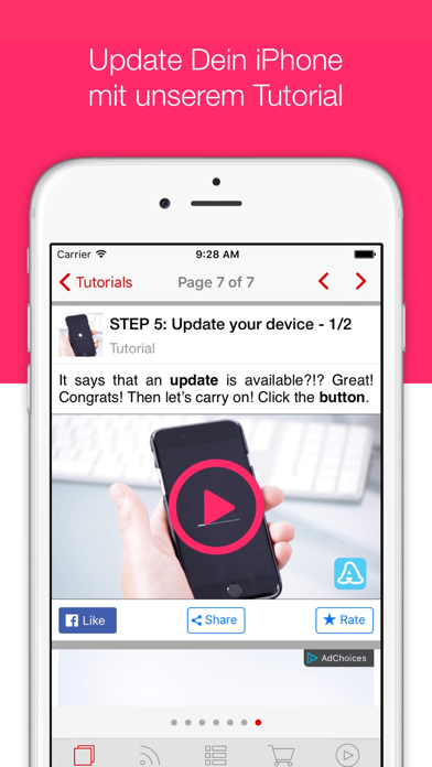 Updaty - Update & NewsScreenshot von 2