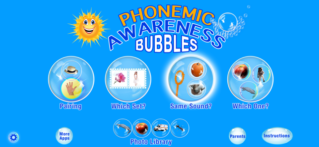 phonemic awareness bubbles app