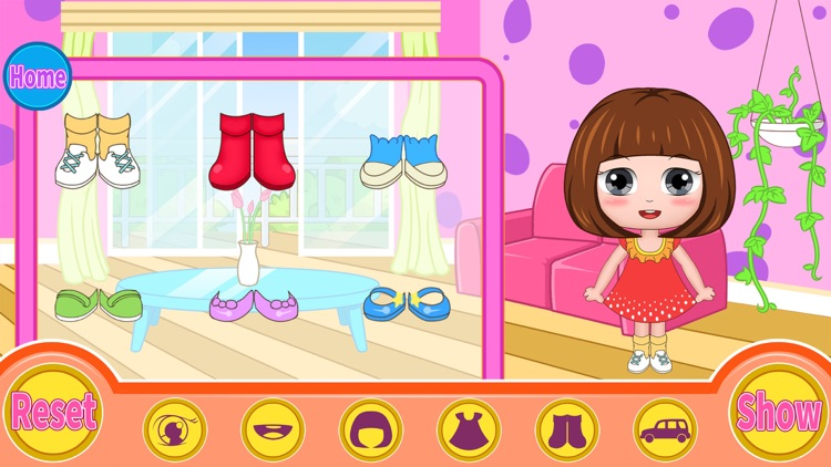 Bella's hair dress up salon