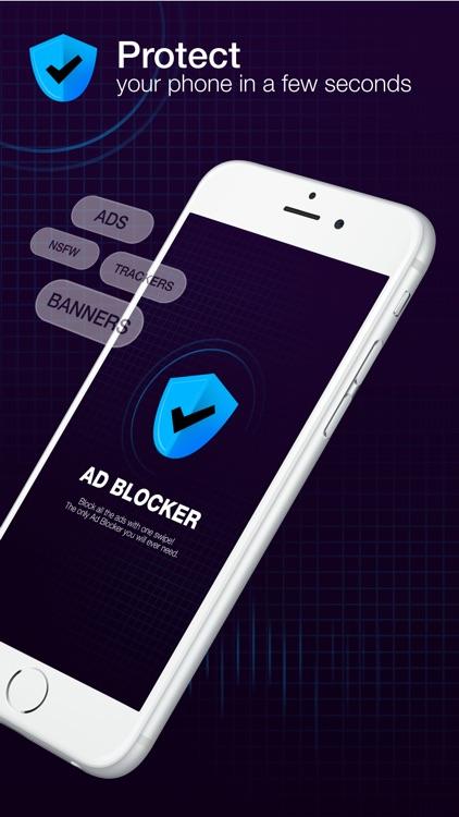 Ad Blocker Plus: Block the Ads