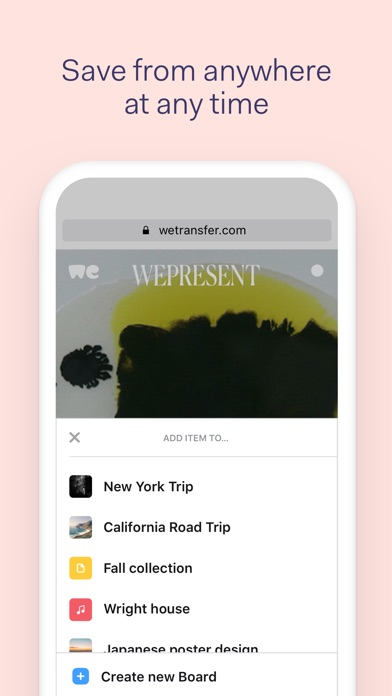 download Collect by WeTransfer apps 0