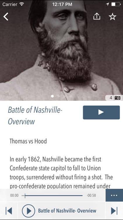 Battle of Nashville Driving Tour