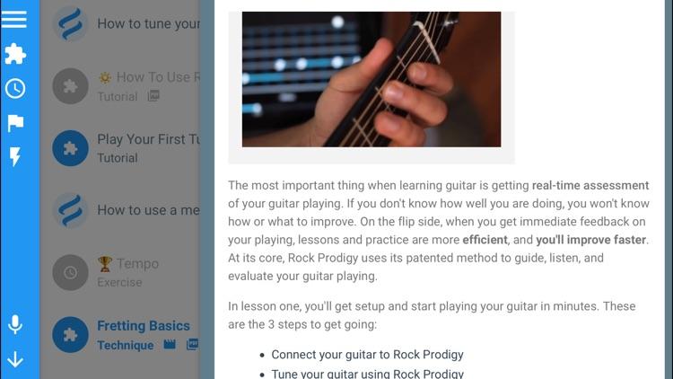 Guitar Lessons: Rock Prodigy screenshot-6