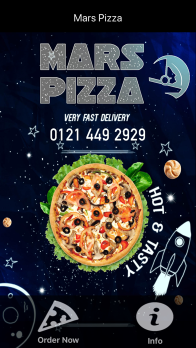 Mars Pizza Birmingham By Abdollah Mohammadian On The Appstore