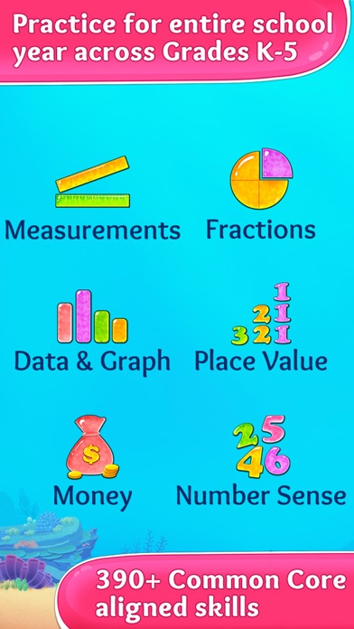 2nd Grade Math - Addition & Subtraction Kids Games app image