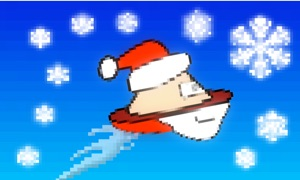 Alien Cowboy: Flappy Christmas